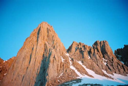Mount Whitney in the morning...