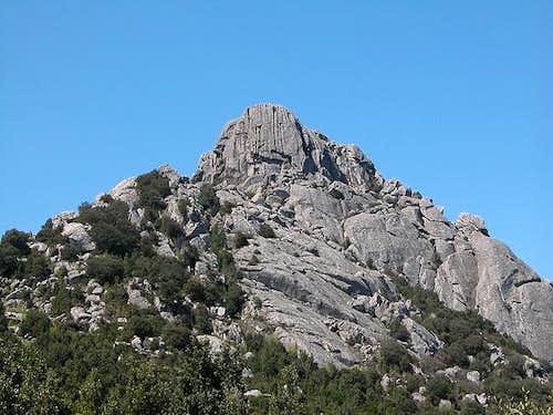 Monte Biancu eastern face,...