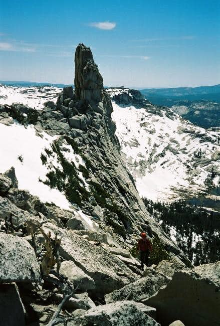 Eichorn Pinnacle seen while...