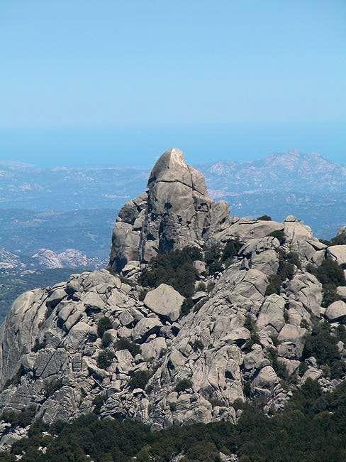 Monte Biancu western summit,...