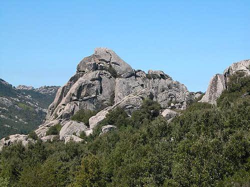 Monte Biancu southern summit,...