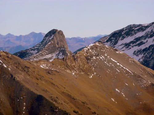 Pic d'Estos from Pic d'Aret