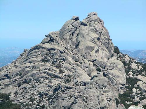 Monte Biancu main summit seen...
