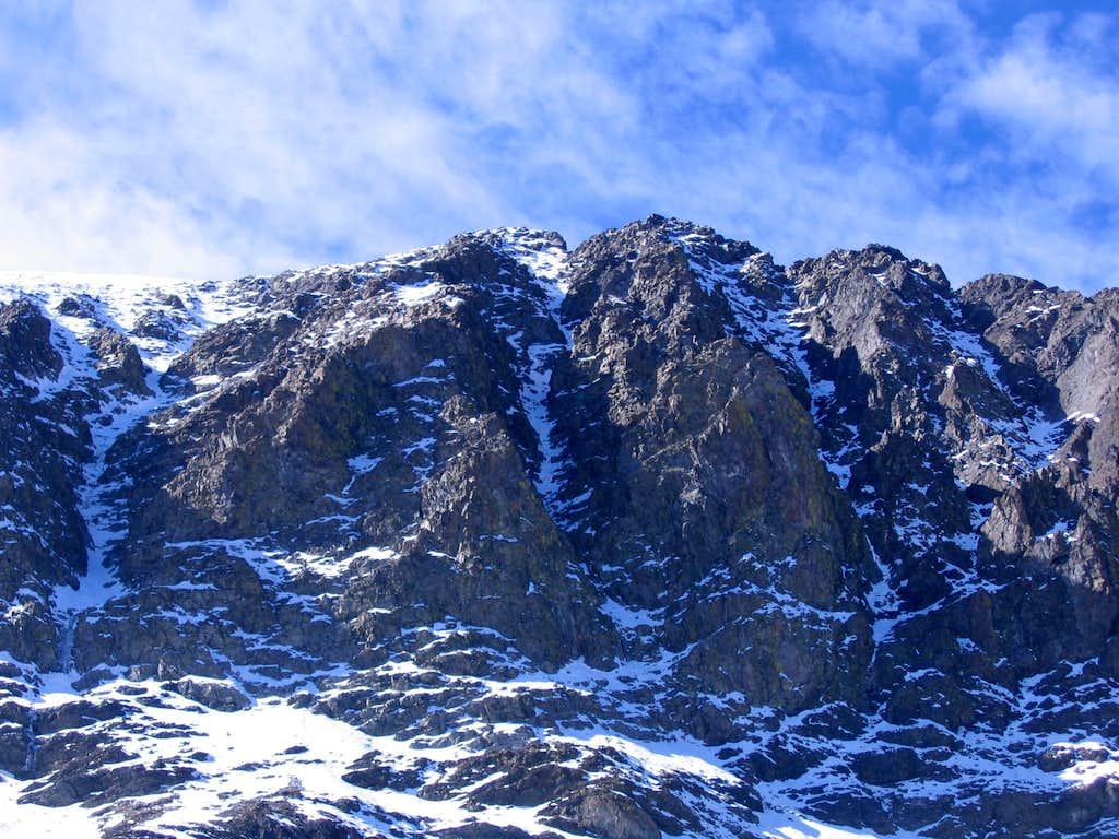 Vandever's North Face