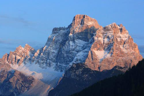 evening view from Colle Santa Lucia