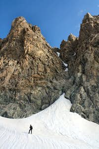 South Couloir from Sphinx Glacier