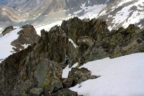 Mount Woodrow Wilson's Summit Ridge
