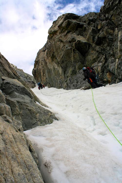 Mount Woodrow Wilson's South Couloir