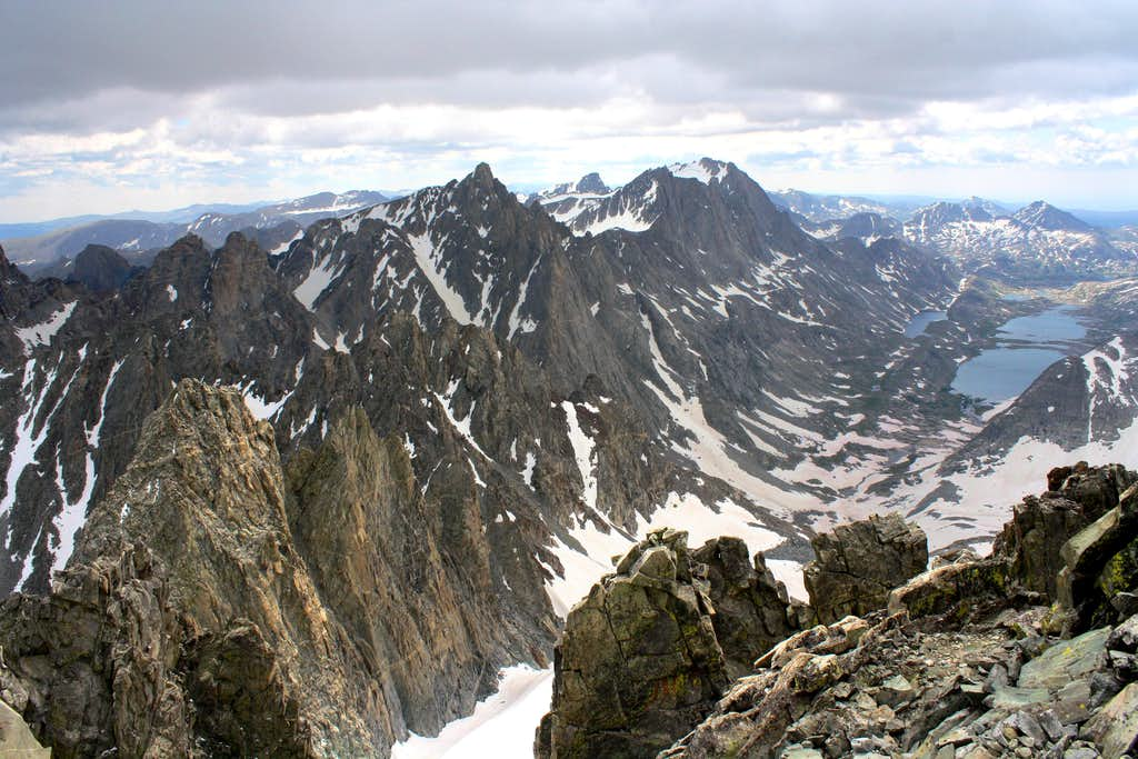 Titcomb Basin View