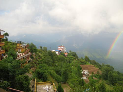 Beautiful Scene of Nagarkot...