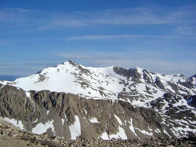 Shot of Traver Peak from the...