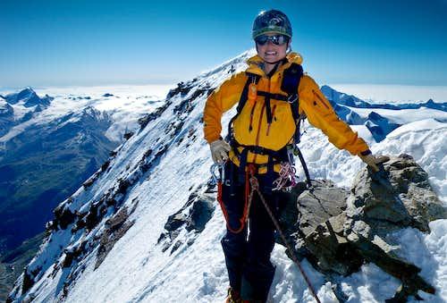Sandy on summit