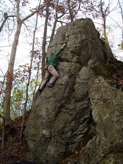 Yet another NJ boulder
