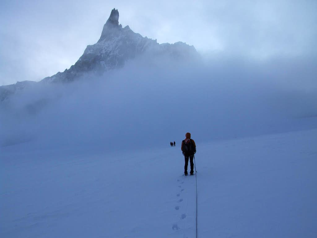 On the way to Dent du Geant