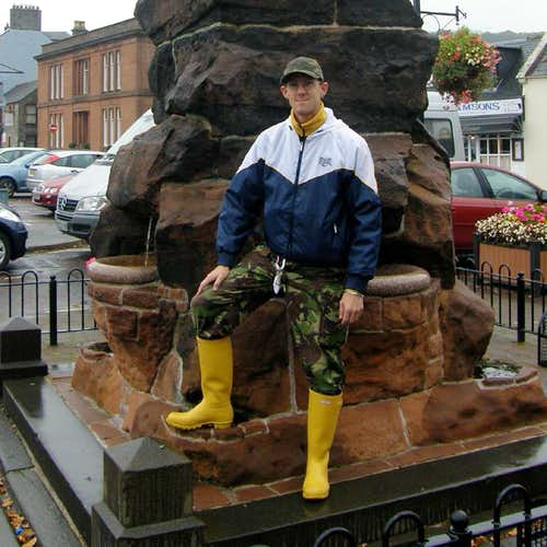 Yellow Hunter wellingtons Moffat
