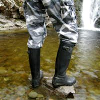 My Black Hunter wellingtons at Tail Burn