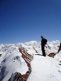 Summit of Nokomotnb, Kazakhstan