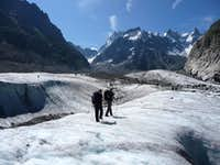View from Mer de Glace
