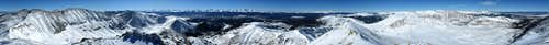 Dyer Mountain Summit Panorama