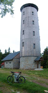 The tower on top of Borůvková Hora