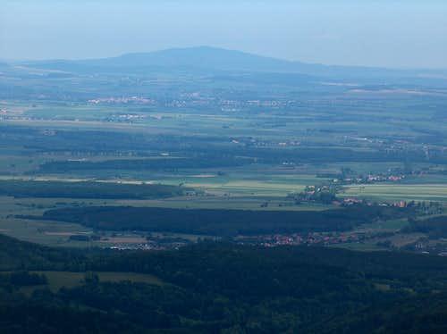 Ślęza from Borůvková Hora