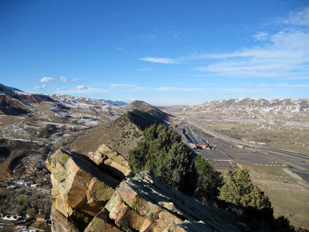 Ridge along the Mount Glennon summit