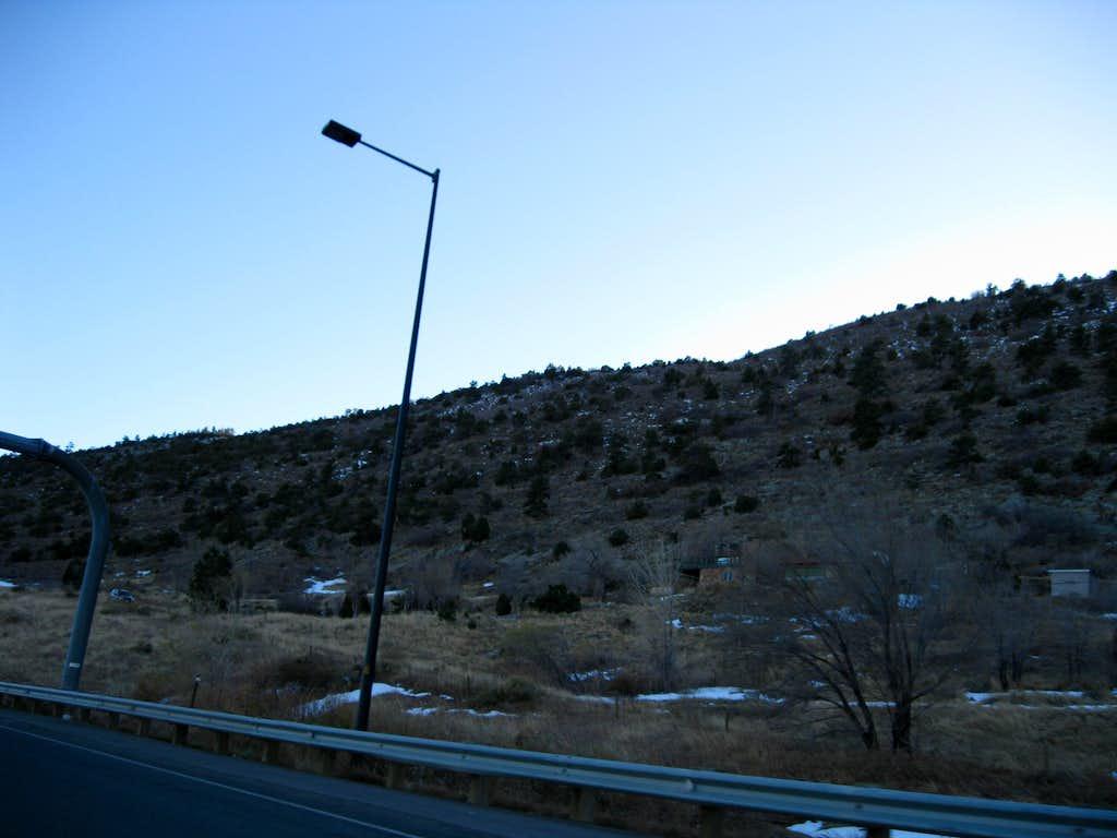 Mount Glennon from US 470