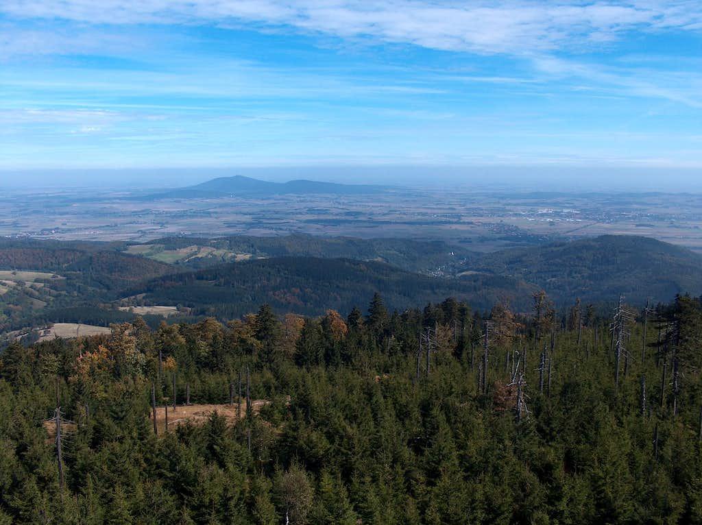 North view from Wielka Sowa