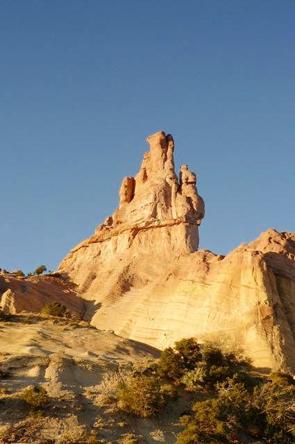 Church Rock in Red Rock Park, New Mexico