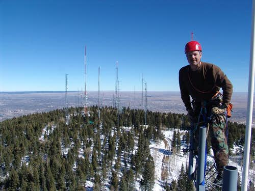Antenna Farm on Cheyenne Mtn
