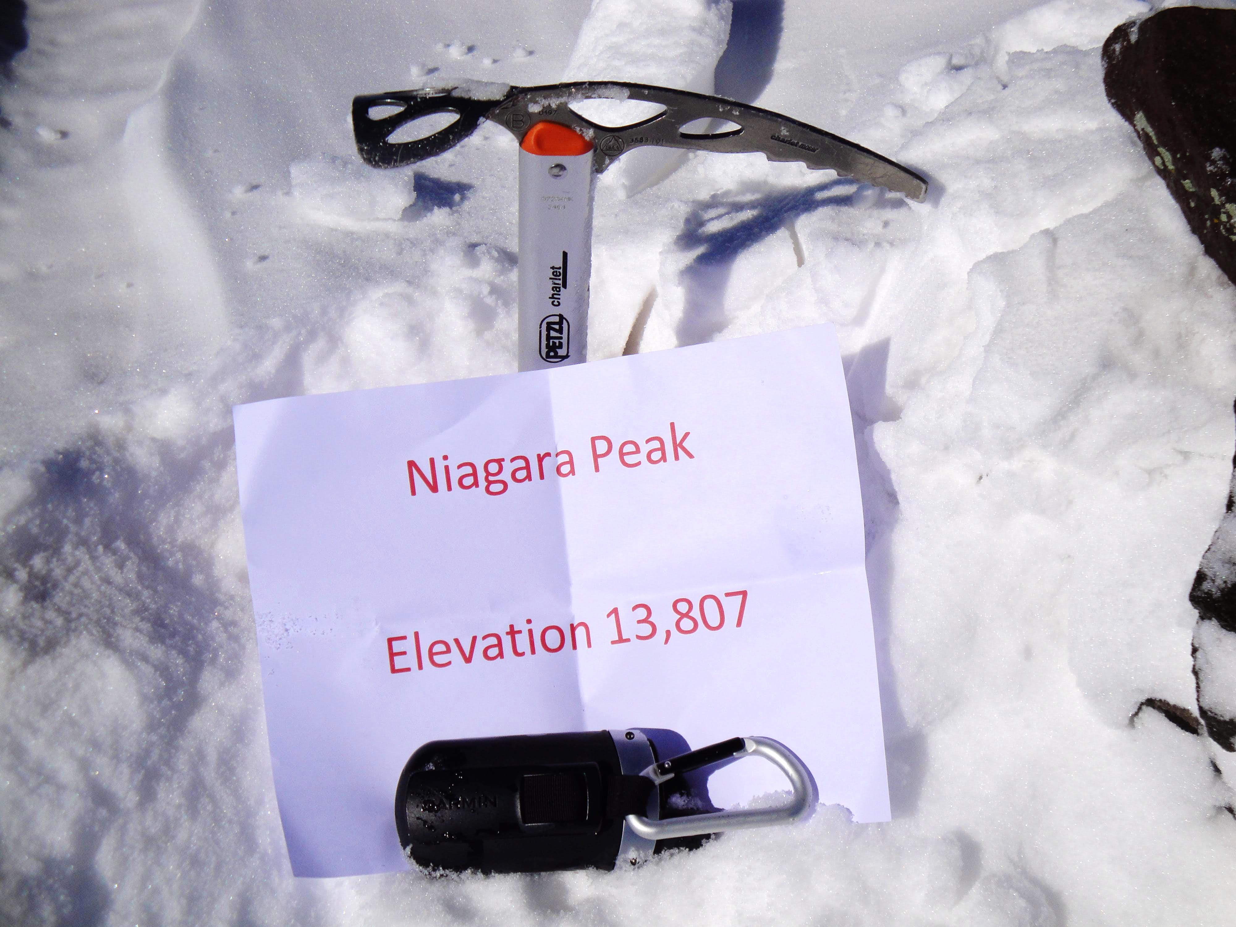 Niagara Peak North Face