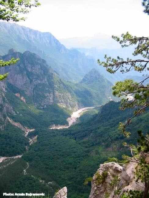 View from Veliki Kuk. June,...