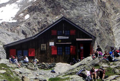 Alpine REFUGES in the Aosta Valley  (Ayas Valley)