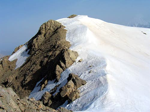 SE Face of Point 4020 m