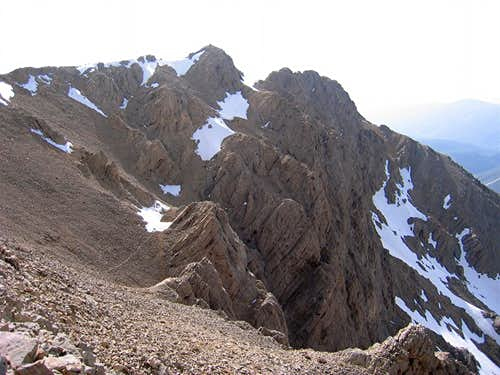 Point 4010 m, SW Face