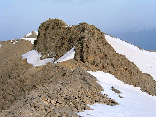 SW Face of Point 4010 m