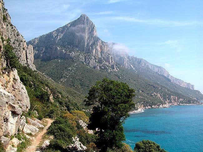 Punta Giradili (732m), seen...