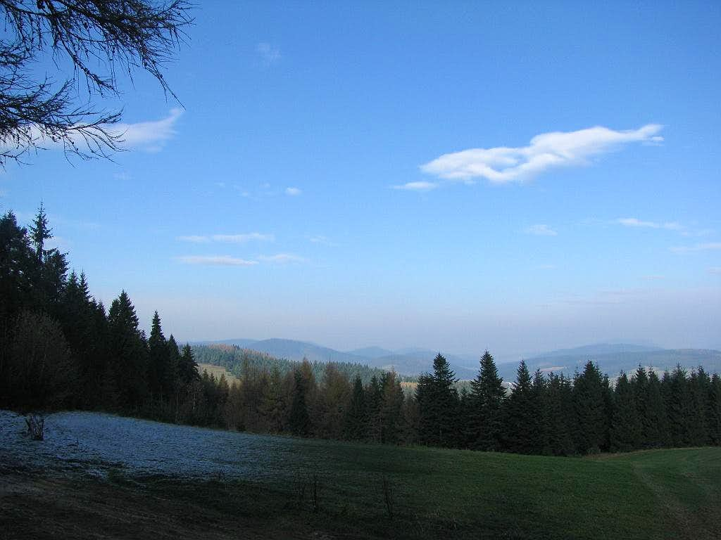 View of Low Beskid