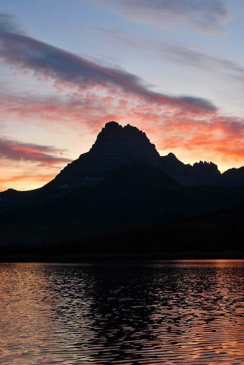 Mount Wilbur sunset