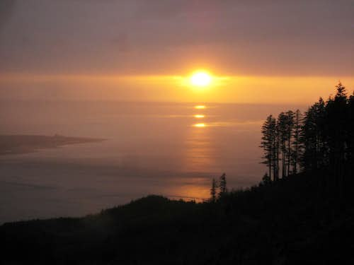 Sunset fr Altoona Hill (WA)