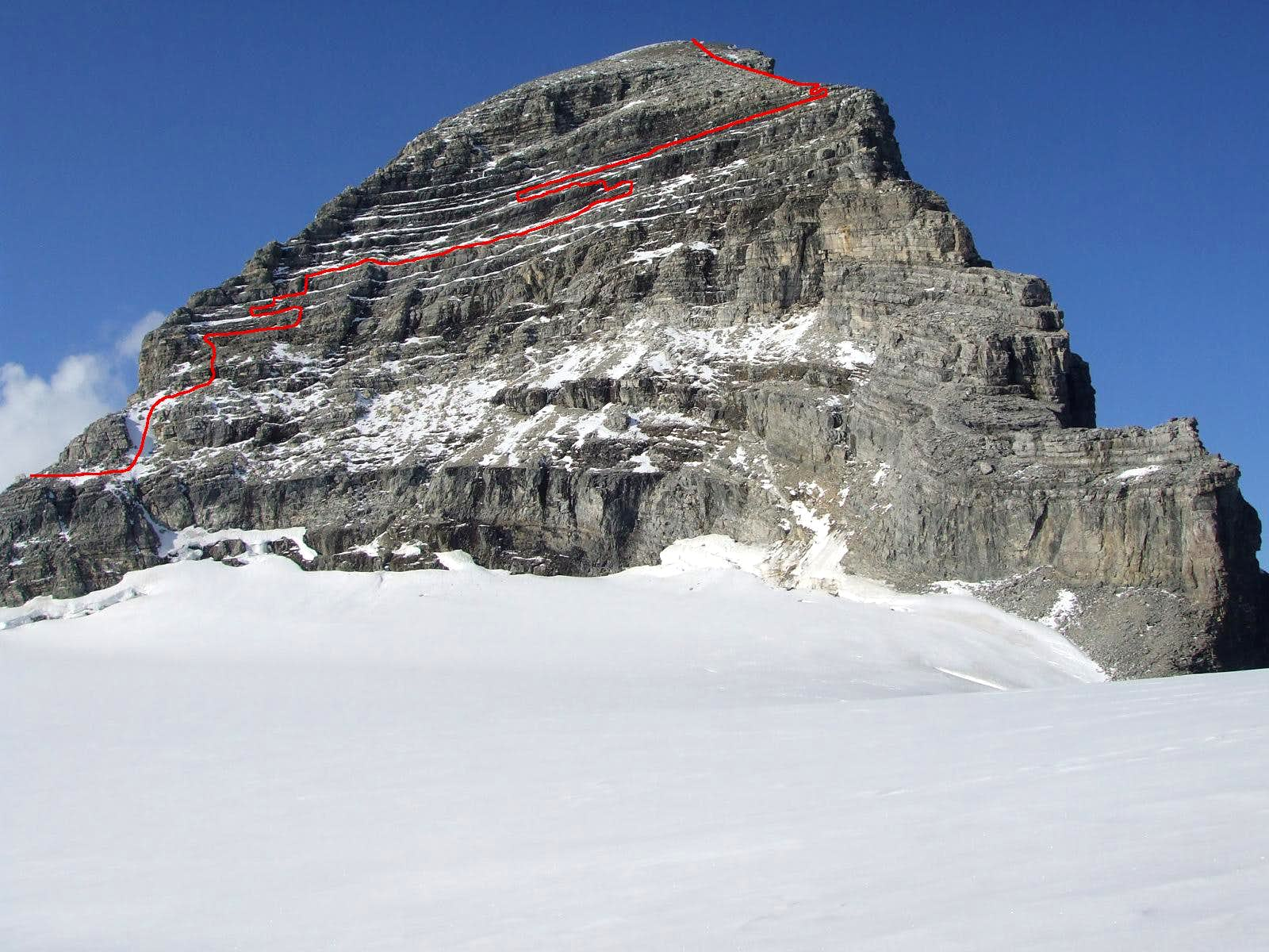 Third Expedition to Mount Sir Alexander: Success and Epic