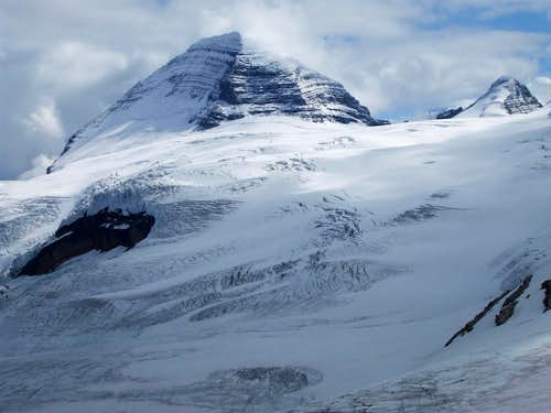 Massive Kitchi Icefield crowned with Mount Sir Alexander