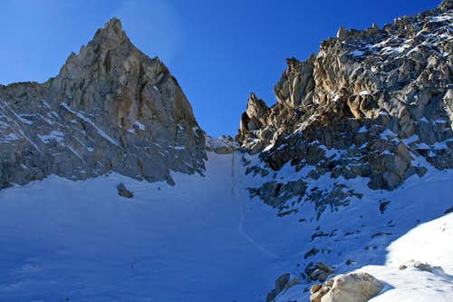Cleaver Peak and Glacier Col