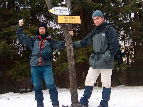 On top of Waligóra