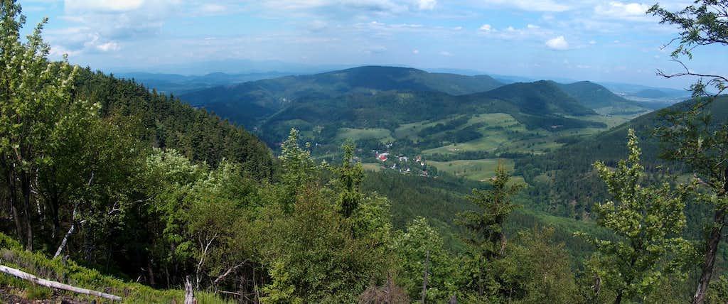 N View from somewhere near Waligóra