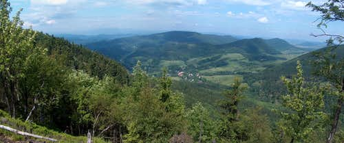 N View from somewhere near Waligóra