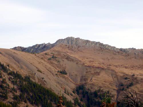 Peak B from Maynard Burn