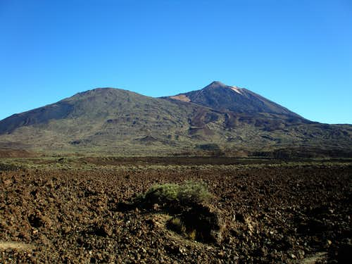 Pico Viejo and Teide