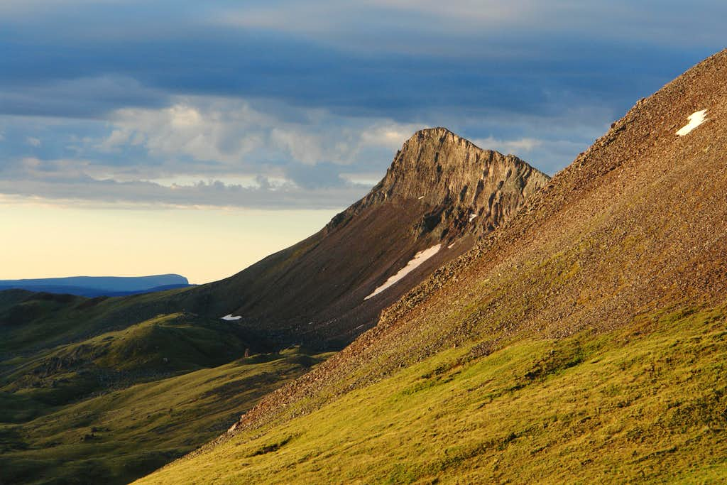 Early Morning, View from Uncompahgre Trail