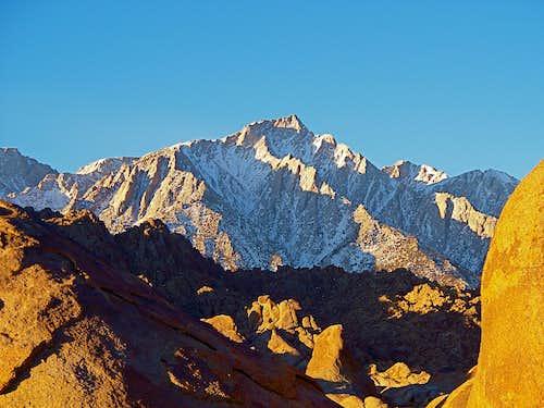 Views of Lone Pine Peak